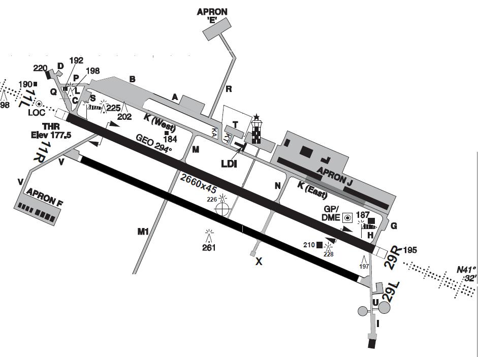 Amendola AB Mil Map