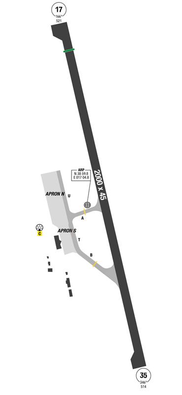 Crotone Map