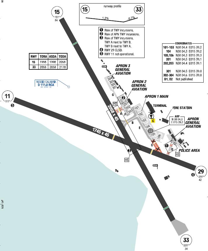 Reggio Calabria Map