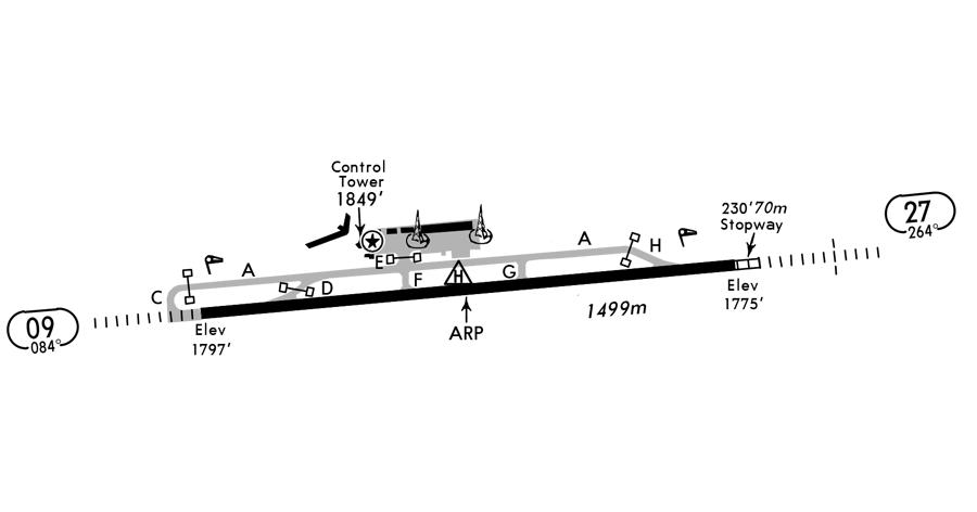 Aosta Corrado Gex Map